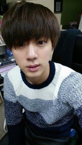 Jin Without Makeup