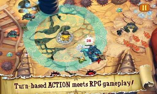 Game: Squids Wild Quest HD Full Version 1.1.13 APK + DATA Direct Link
