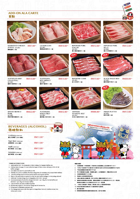 牛摩 Wagyu More Sunway Pyramid Malaysia Japanese All You Can Eat Shabu Shabu Buffet Ala-Carte Promotion