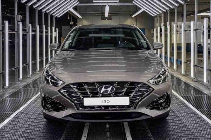Hyundai i30 2020 thế hệ mới, đối thủ mới của Mazda 3 bắt đầu xuất xưởng từ 25/5 tới