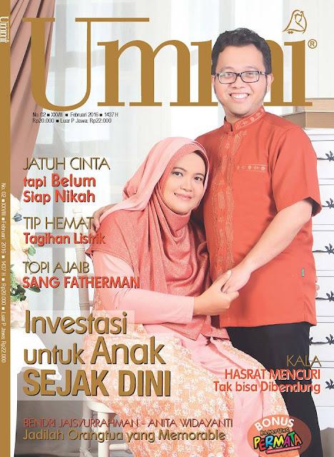Tulisan tayang di majalah Ummi