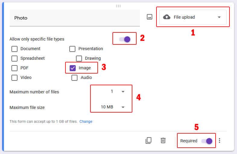 pengaturan input tipe file upload