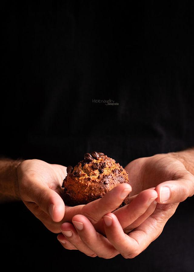 Muffins de mantequilla de cacahuete (sin lactosa)