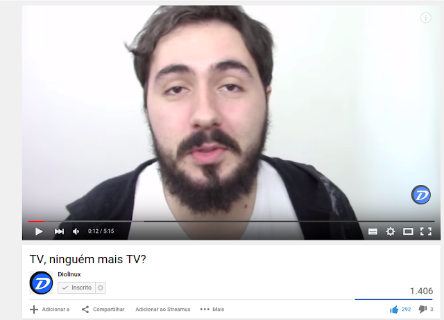 Novo Player no YouTube