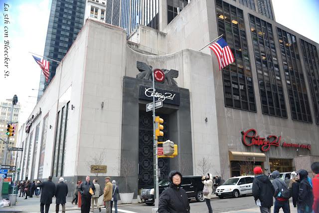 Century 21 el mejor outlet de Nueva York