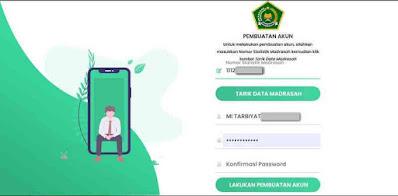 Laman Registrasi e-Ponsel