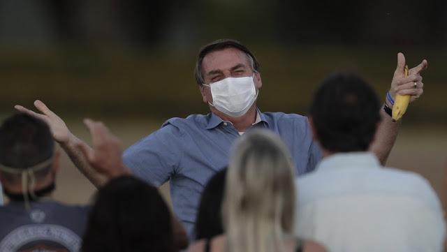 Bolsonaro anuncia que ha dado negativo a la prueba del coronavirus