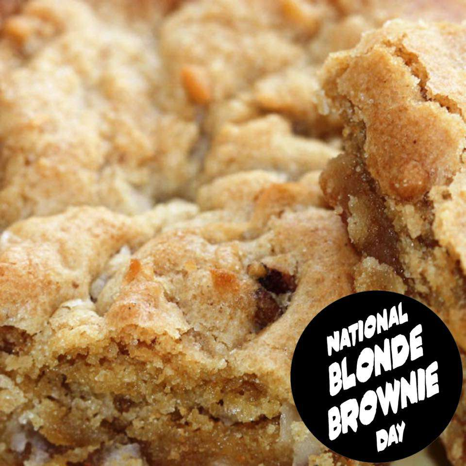 National Blonde Brownie Day Wishes Awesome Images, Pictures, Photos, Wallpapers