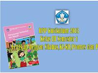 RPP Kelas 3 Kurikulum 2013 Semester 1 Revisi 2018