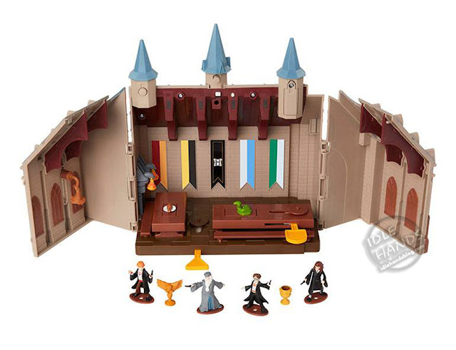Toy Fair 2018 JAKKS Pacific Harry Potter Mini Playsets Wave 1