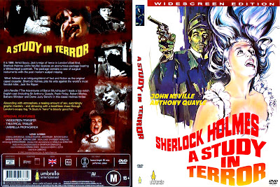 Carátula: Sherlock Holmes: Estudio de terror / A Study in Terror / Descargar / Online