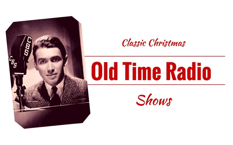 several christmas themed films were adapted for audio and featured many members of the original cast we wanted to share a few of these christmas classics - Old Time Radio Christmas