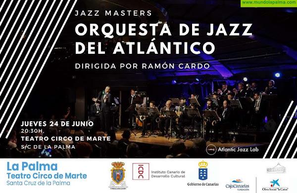 El Teatro Circo de Marte acoge por primera vez un concierto de la Orquesta de Jazz del Atlántico