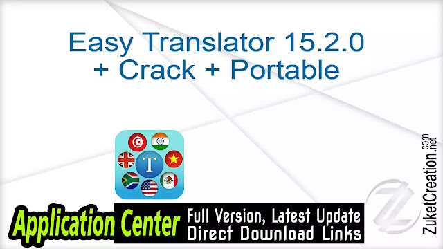 Easy Translator 15.2.0 + Crack + Portable