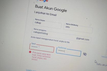 Cara Membuat Email Pribadi Gratis