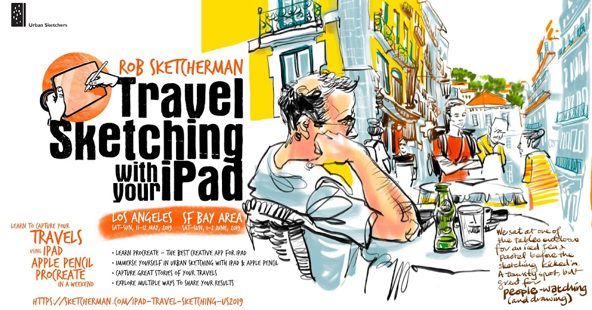 USk Workshop: Travel Sketching with your iPad | Urban Sketchers