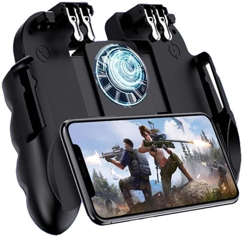Review 4 Trigger Mobile Game Controller with Cooling Fan