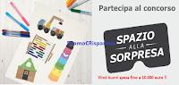 Logo Con IKEA vinci buoni spesa fino a 10.000 euro e in regalo pennarelli o forbici Mala