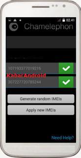 Tips Mengatasi IMEI Tidak Valid Pada Advan S5E Pro