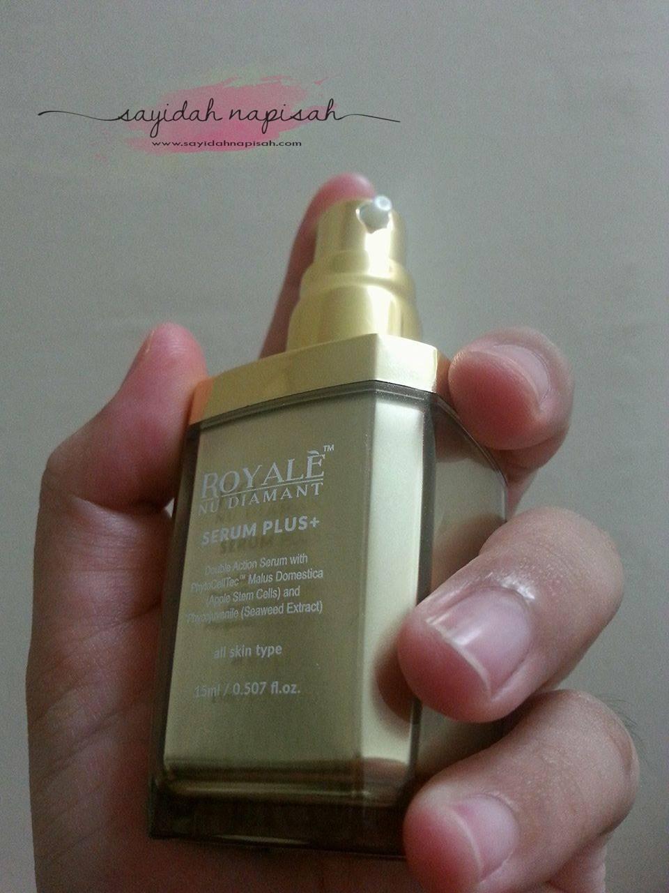 Royale Nu Diamant Serum Plus+ : Produk Terbaik Merawat Jeragat