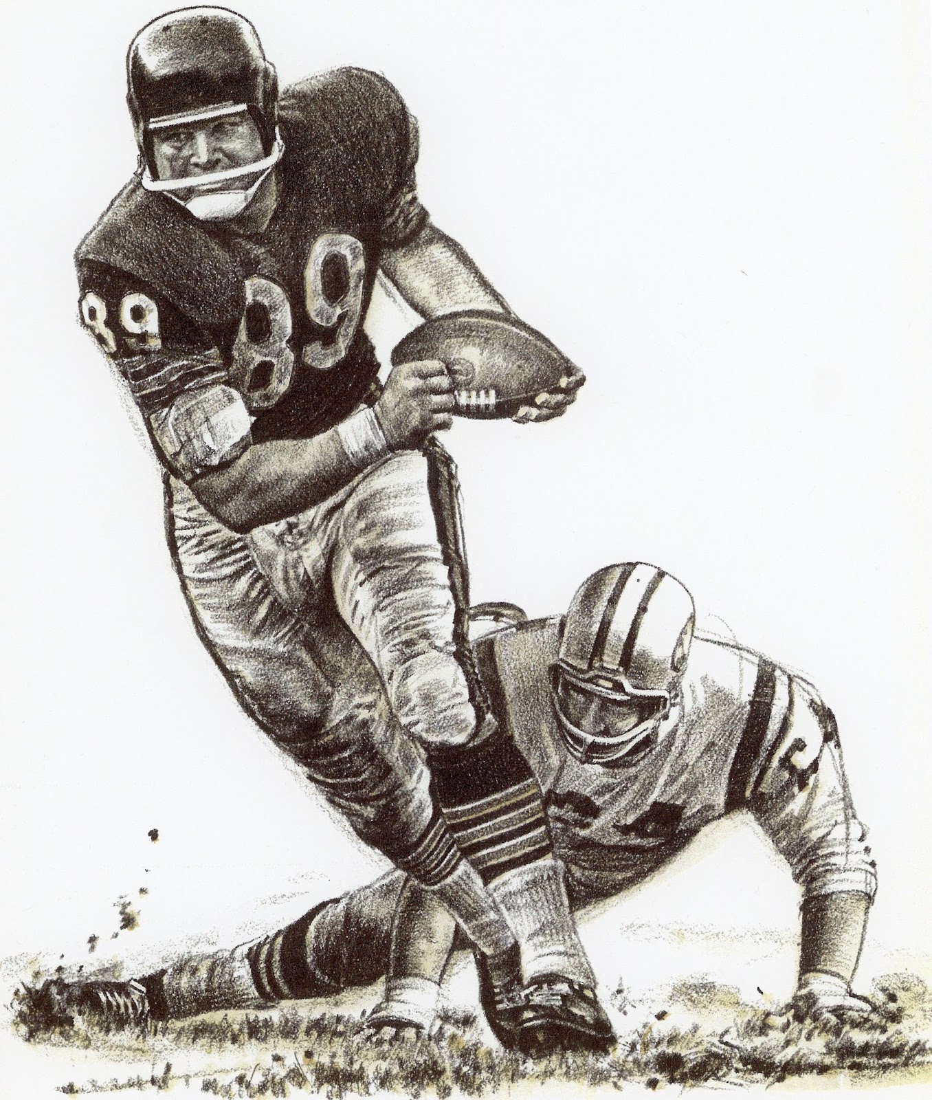 Pro Football Journal  Best Plays Of The Year  1962