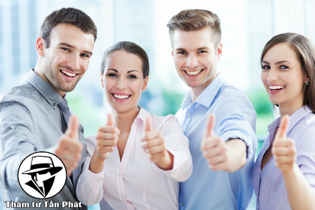 Khách hàng rất hài lòng khi sử dụng dịch vụ thám tử giá rẻ của công ty thám tử Tấn Phát
