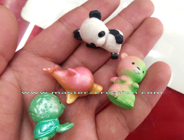 mini cartoon animals toy