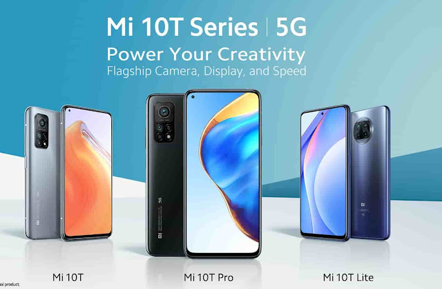 Xiaomi Mi 10T Series 5G specification, Price in India