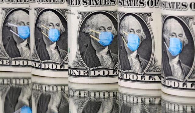 El dólar inicia la semana a la baja