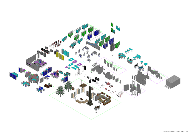 Office Furniture in 3D