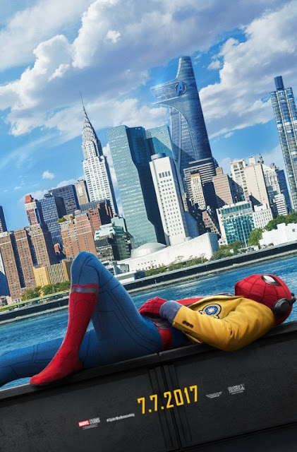 Spider-Man: Homecoming Teaser Theatrical One Sheet Movie Poster