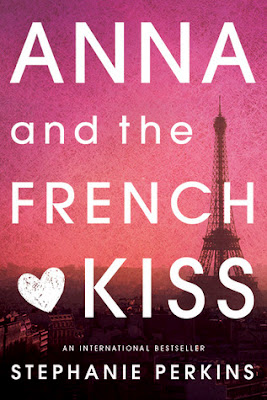 Anna and the French Kiss by Stephanie Perkins is a teen ya/young adult romance chick-lit book.  This book, the first in a series, is very popular and received 3 out of 5 stars in my book review.  Good book for those that don't like reading, girls, and fans of Pretty Little Liars and/or Twilight.  Mostly clean.  High School romance, Paris, beach read/pool book, easy, fun. 9th, 10th, 11th, 12th grade. Alohamora Open a Book www.alohamoraopenabook.blogspot.com
