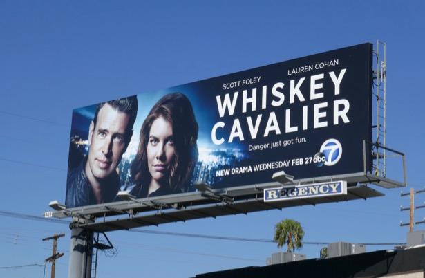 Whiskey Chavalier ABC series billboard