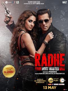 Downlaod Radhe (2021) Full Movie Hindi 480p 720p HD