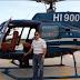 Helicóptero se accidentó en Puerto Plata porque el motor se apagó; cuando cayó se incendió