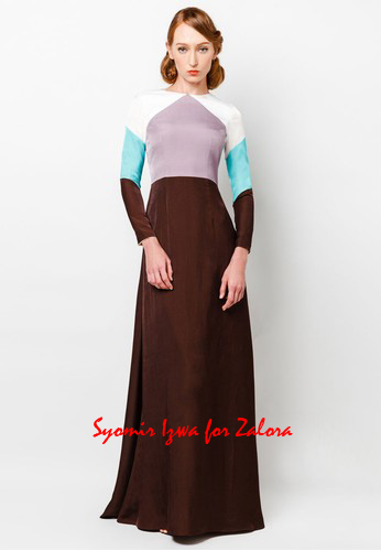 Art-Deco inspired dress design for Hari Raya 2014