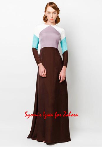 Art-Deco inspired dress design for Hari Raya 2014