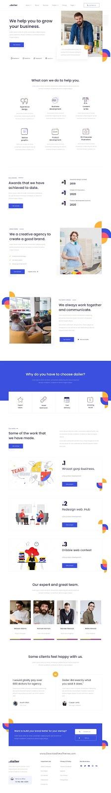 Startup Elementor Template Kit