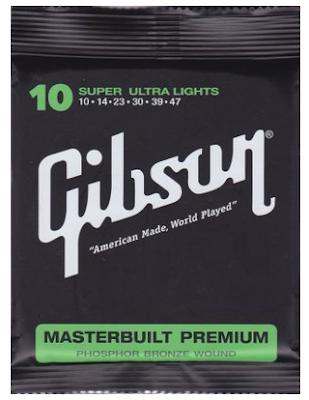 Senar Gitar Akustik Gibson (0.10-0.47)