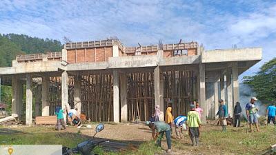 Masyarakat Limau Kapeh  Gotong-Royong Bersihkan Masjid Nurul Ikhlas