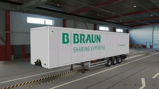 B.Braun Trailer Skin ETS2