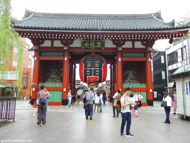 Kaminarimon, la Puerta del Trueno del Sensoji Temple