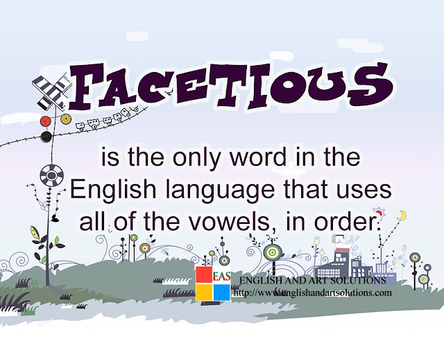 word that uses all of the vowels