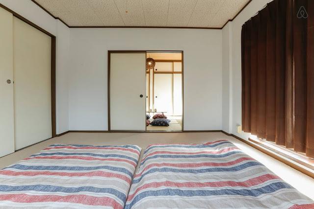 Chambre tatami futon