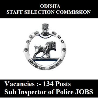 Odisha Staff Selection Commission, OSSC, Odisha, SI, Police Sub Inspector, Sub Inspector, Graduation, freejobalert, Sarkari Naukri, Latest Jobs, ossc logo