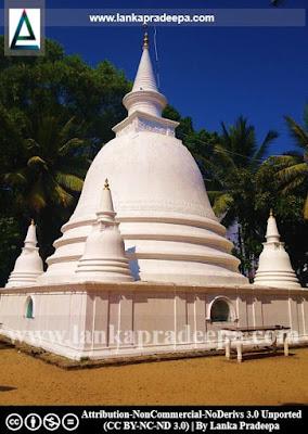 The Stupa, Karagampitiya Viharaya