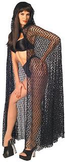 Full length Mesh cape