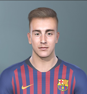 PES 2019 Faces Oriol Busquets by Sofyan Andri