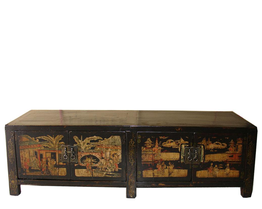 Mueble Antiguo Chino Tv Muebles Chinos Muebles Mueble Chino  # Muebles Tibetanos Antiguos