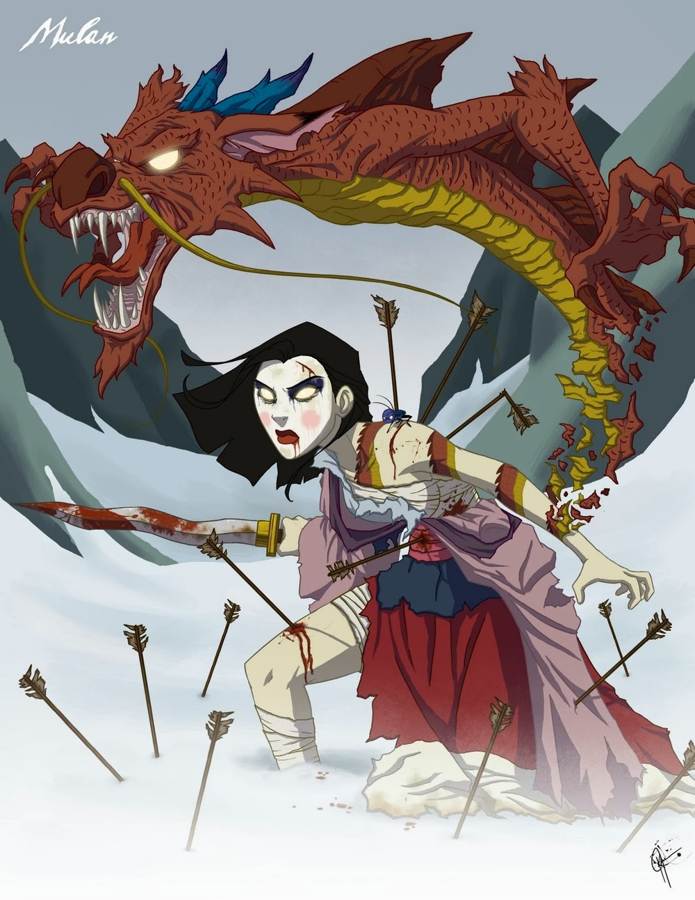 09-Mulan-Jeffrey-Thomas-Twisted-Princess-www-designstack-co